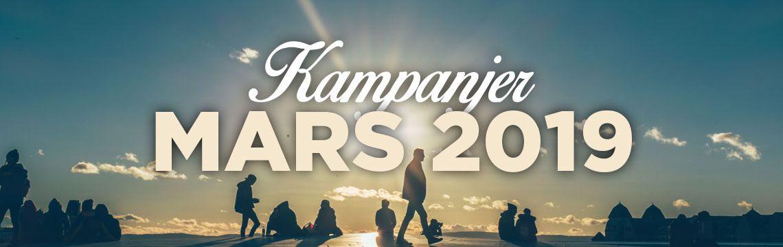 Kampanjer - Mars 2019