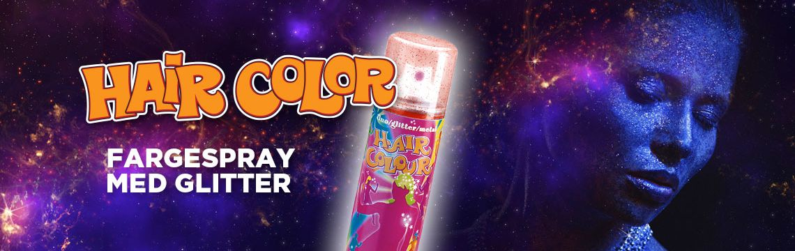 Fargespray - Glitter
