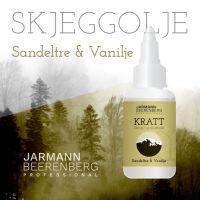 Kratt Skjeggolje - Sadeltre og Vanilje