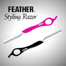 Feather Kniv - Sort / Rosa