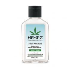 Hempz Triple Moisture Moisturizing Herbal Hand Sanitizer - 64ml