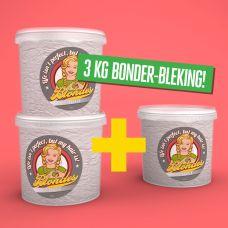 3 KG Blondes Bonder - Bleking (2+1)