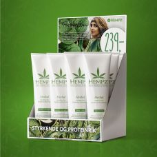 Display med Hempz Fortifying Shampoo & Conditioner