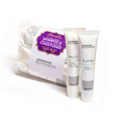 10 stk prøvetuber - JB Pro Platina Shampoo & Multi Intense Conditioner