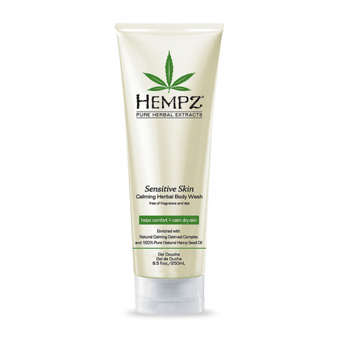 Hempz Sensitive Skin Calming Herbal Body Wash - 250ml