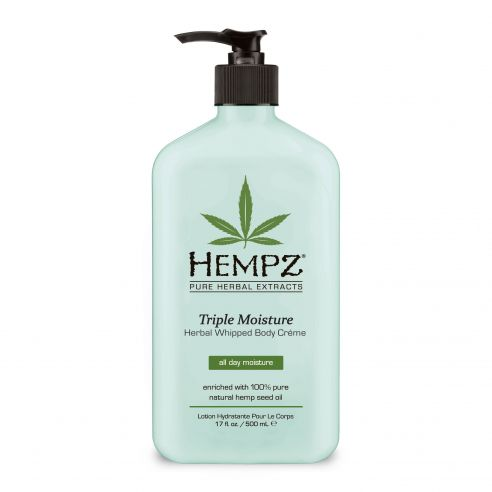 Hempz Triple Moisture Herbal Whipped Body Creme - 500ml