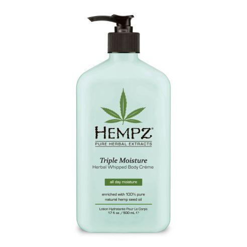 Hempz Triple Moisture Herbal Whipped Body Creme - 500ml