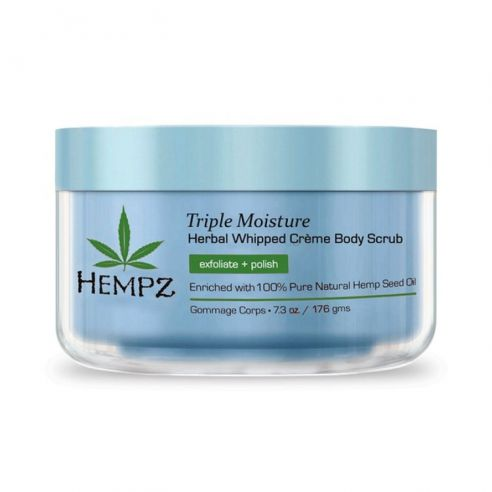 Hempz Triple Moisture Herbal Whipped Crème Body Scrub - 176gr