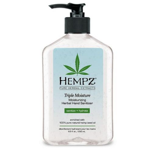 Hempz Triple Moisture Moisturizing Herbal Hand Sanitizer - 250ml