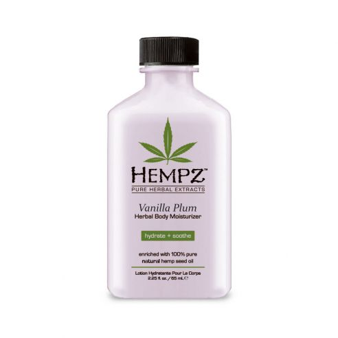 Hempz Vanilla Plum Herbal Body Moisturizer - 66ml