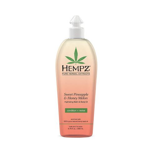 Hempz Sweet Pineapple & Honey Melon Herbal Hydrating Bath & Body Oil