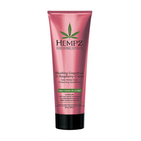 Hempz Blushing Grapefruit & Raspberry Crème - Daily Herbal Color Preserving Conditioner - 265ml