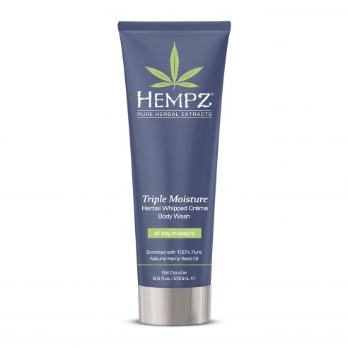 Hempz Triple Moisture Herbal Whipped Creme Body Wash - 250ml